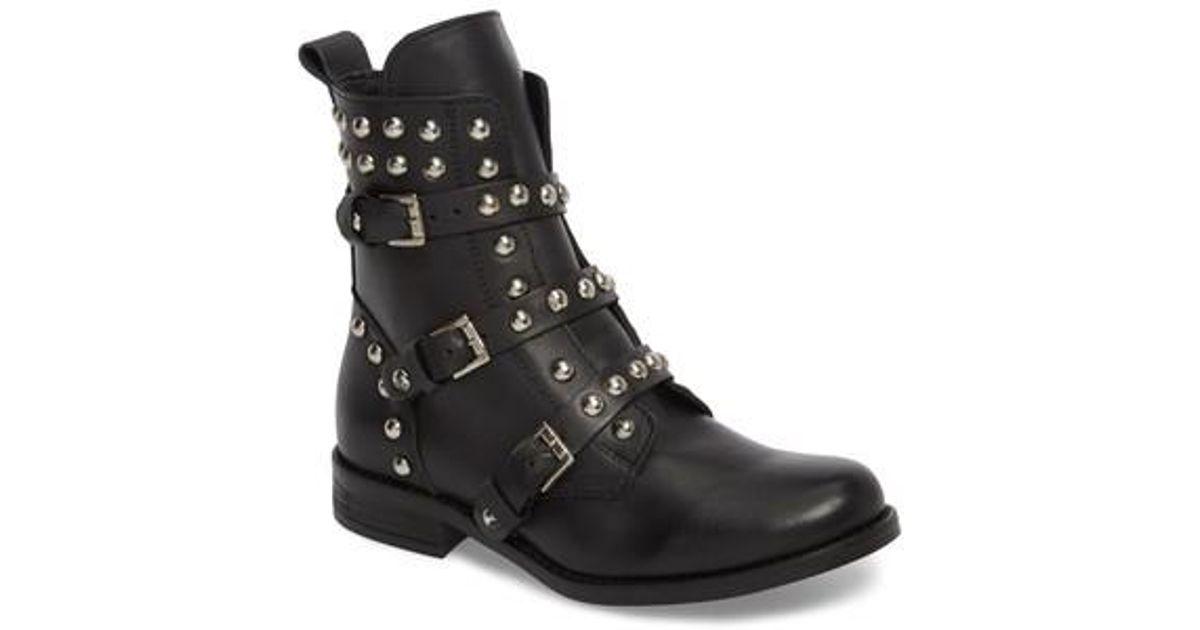 de473643b54 Steve Madden Black Studded Spunky Boot