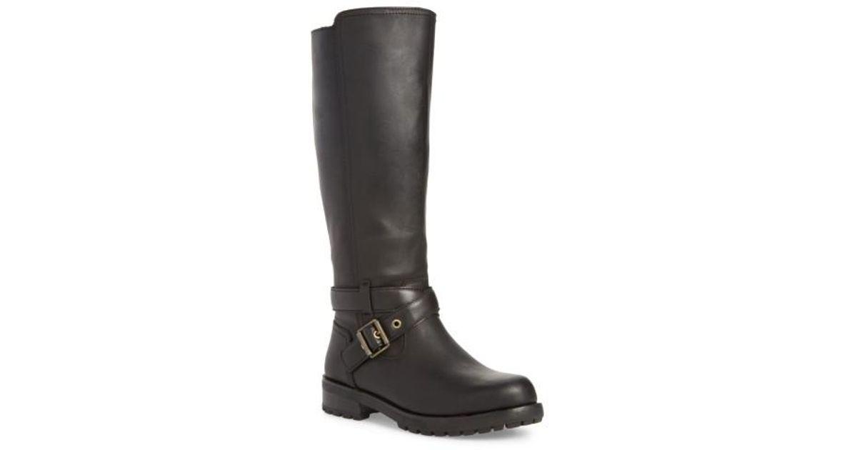 0a8068568b6 Ugg Black Ugg Harington Water-resistant Riding Boot