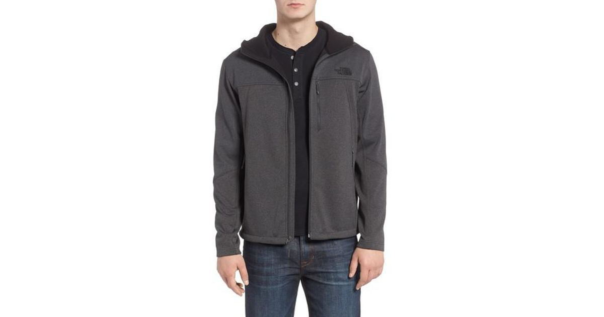 6be2e49bc The North Face Gray Apex Canyonwall Hybrid Jacket for men