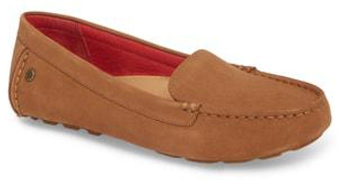 c3b552039c5 Ugg Red (r) Milana Ii Moc Toe Flat (women)