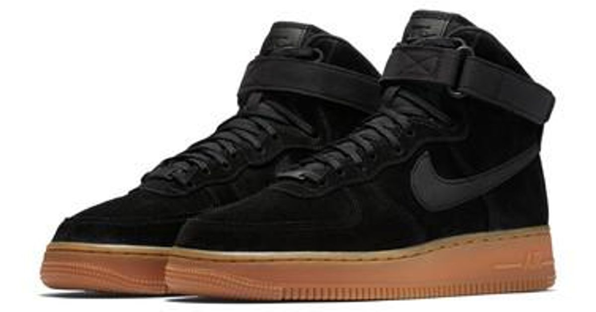 finest selection a2a93 2e631 Lyst - Nike Air Force 1 High Top Se Sneaker in Black for Men