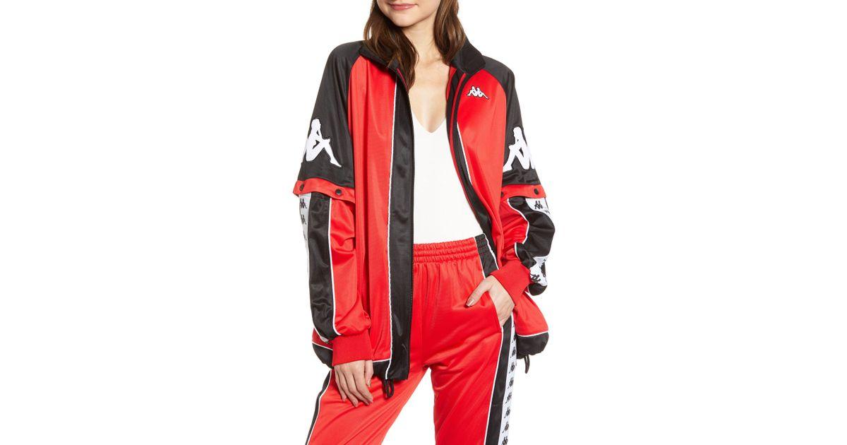 14c2efdbf Kappa Red 222 Banda Big Bay Convertible Jacket