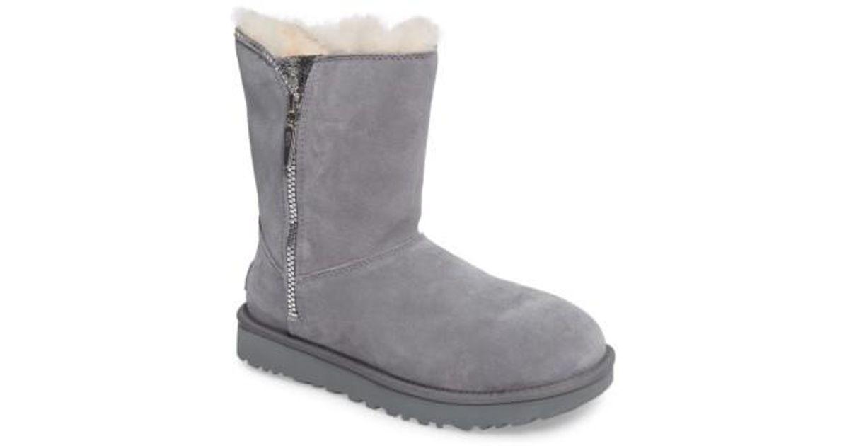 4c783598a0e Ugg Gray Ugg Marice Glitter Inset Boot