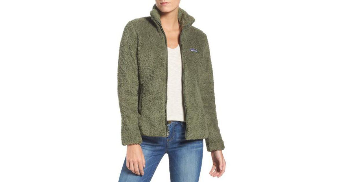 6a760d1b168 Lyst - Patagonia Los Gatos Fleece Jacket in Green