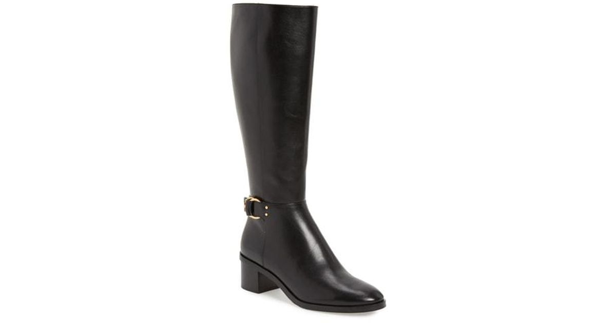98f5e061d13 Lyst - Tory Burch Marsden Boot (women) (wide Calf) in Black