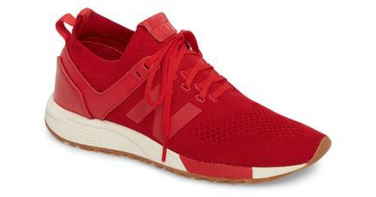 New Balance 247 Decon Knit Sneaker in