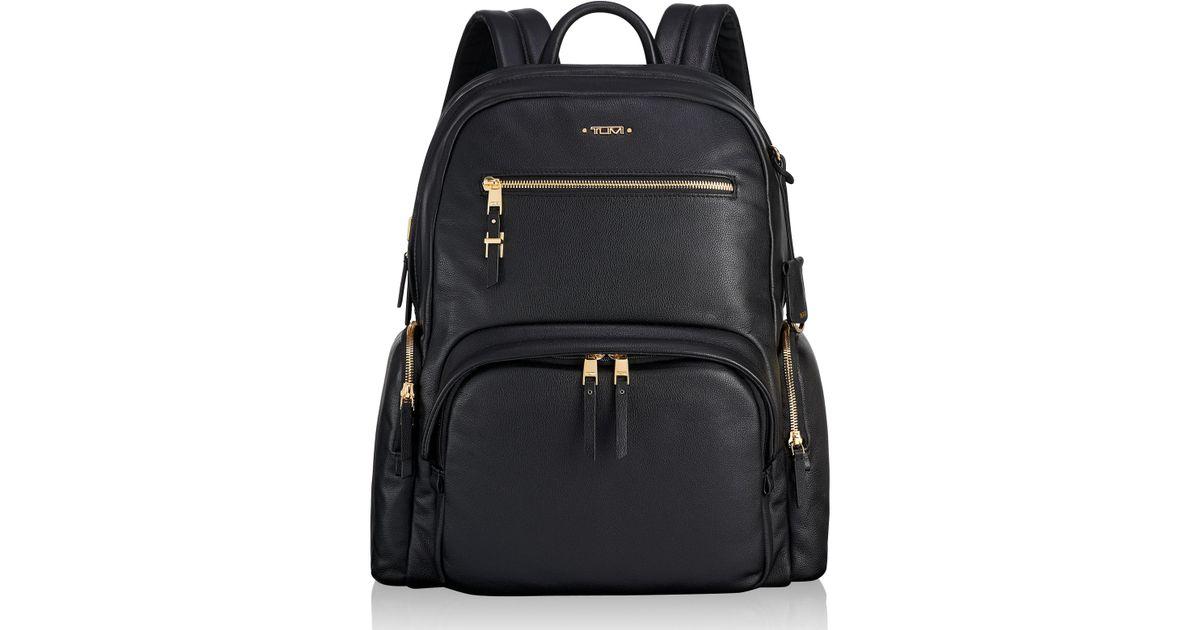 5f3e004b180 Tumi Black Voyager Carson Nylon Backpack