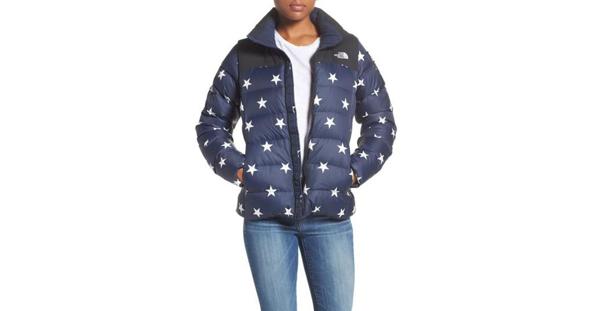 0a310b8903a5 Lyst - The North Face International Collection Nuptse 700-fill Power Down  Puffer Jacket in Blue