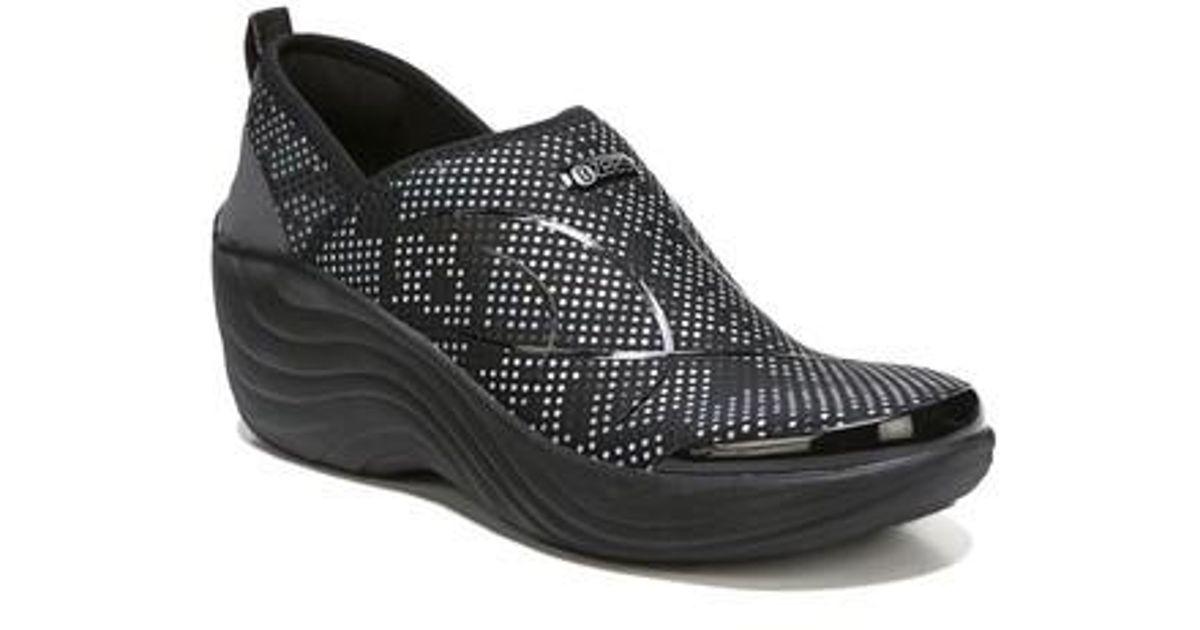 Bzees Zsa Zsa Wedge Sneaker in Black - Lyst