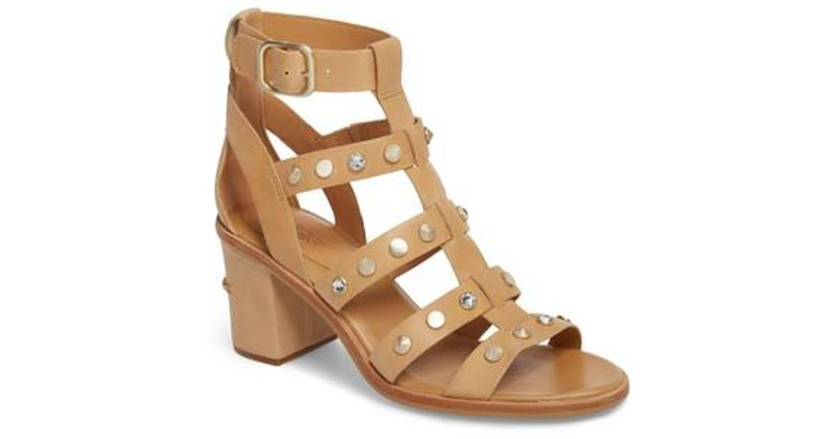 2852d5e6a Lyst - UGG Ugg Macayla Studded Sandal in Brown