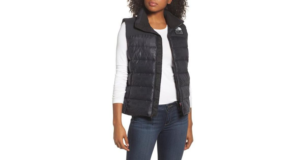 753d9a23f65f Lyst - The North Face International Collection Nuptse 700-fill Power Down  Puffer Vest in Black
