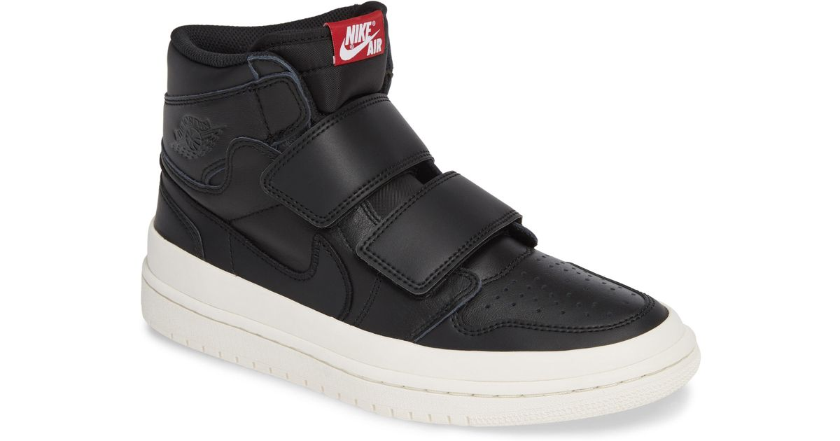 info for 8965b e91a0 Nike Air Jordan 1 Retro High Double Strap Sneaker in Black for Men - Save  51% - Lyst