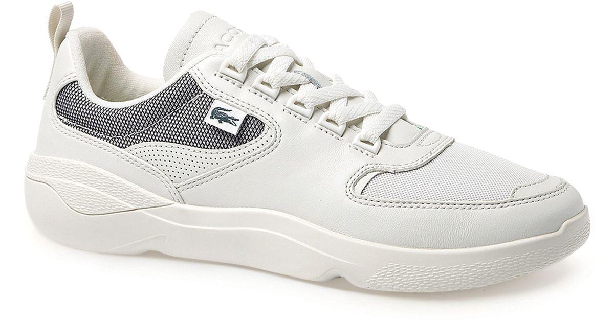 0794c96ac Lyst - Lacoste Wildcard 119 Sneaker in White for Men