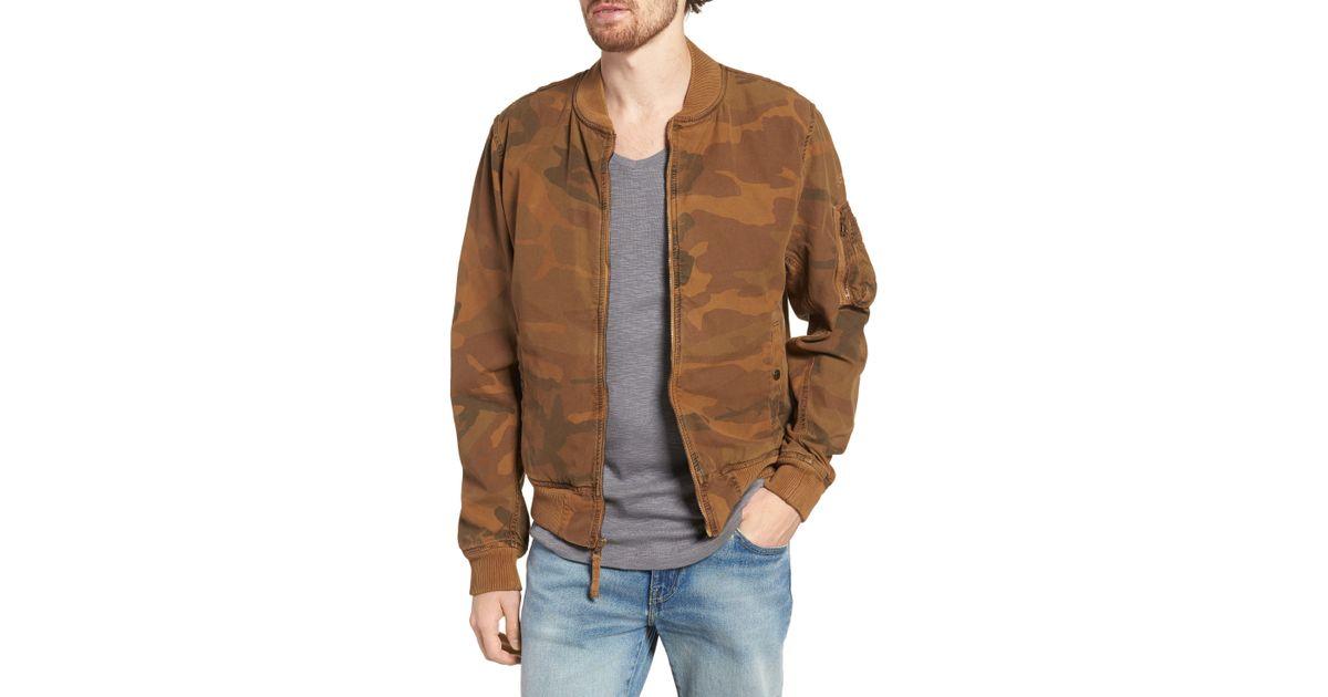 2d23393c0 Schott Nyc Multicolor Ma-1 Cotton Bomber Jacket for men