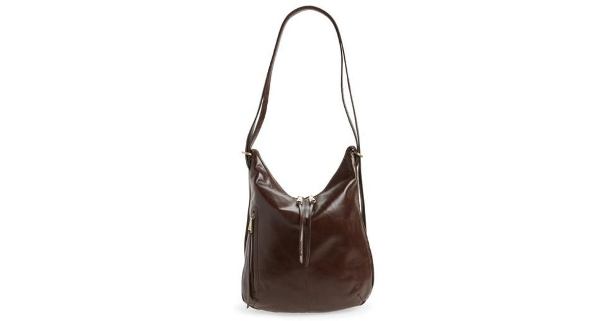 9321f53d80 Lyst - Hobo Merrin Leather Backpack in Brown