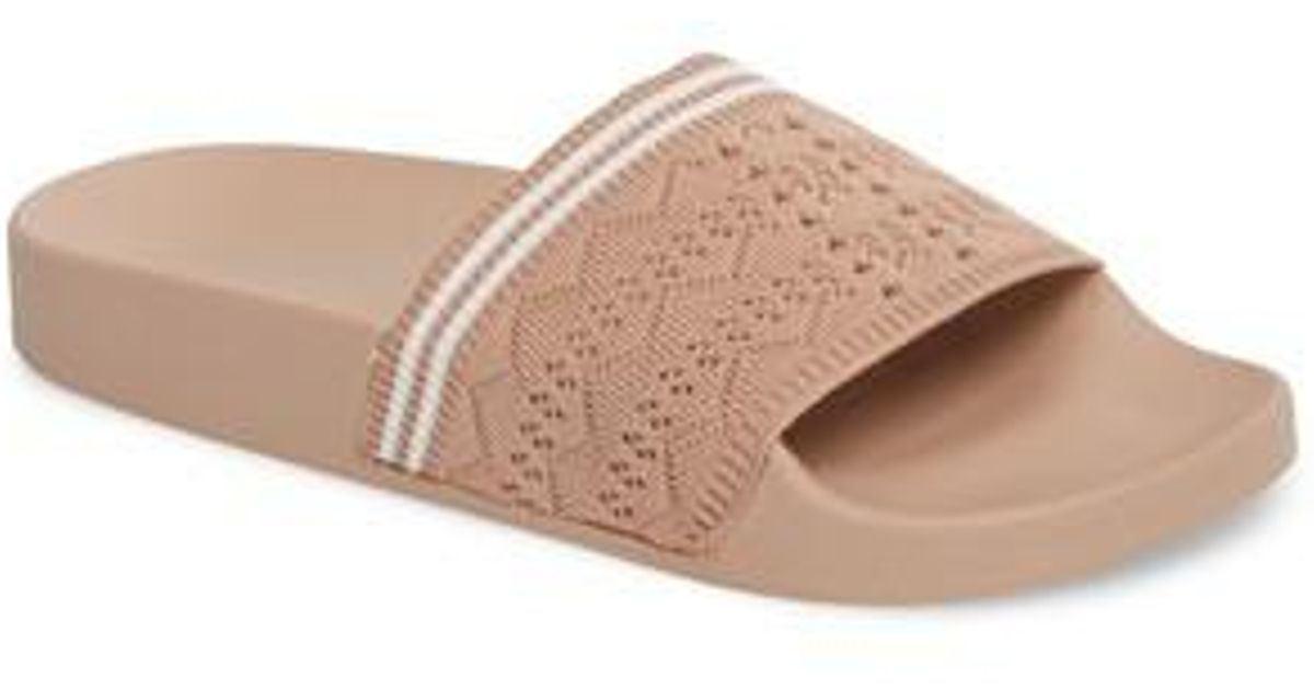 905ef4abe44e Lyst - Steve Madden Vibe Sock Knit Slide Sandal (women) - Save 39%