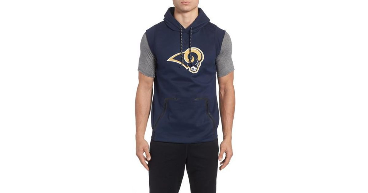 3dda74b0db36b Lyst - Nike Therma-fit Nfl Graphic Sleeveless Hoodie in Blue for Men