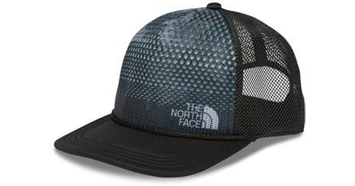 Lyst - The North Face Trail Trucker Hat - in Black for Men 1cb686a5de8