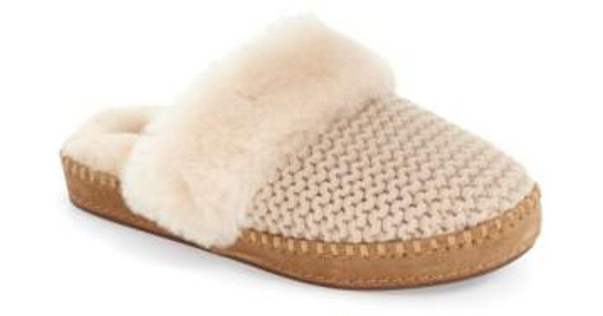 8d85b4cb918 Ugg Natural Ugg Aira Knit Scuff Slipper