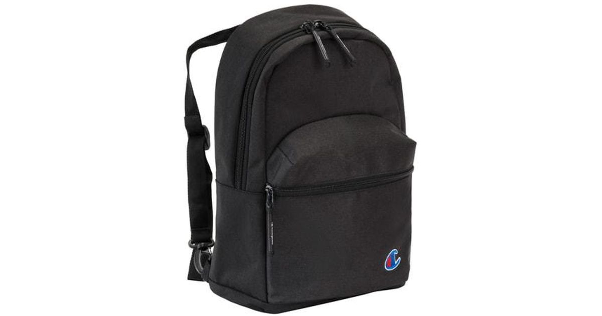 9dbba145cdb0 Lyst - Champion Mini Supercize Cross Over Backpack in Black