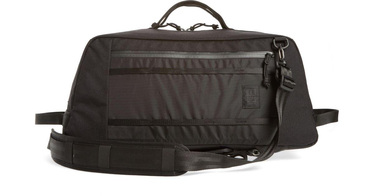 56eebf80e3b1 Lyst - Topo Designs Mountain Convertible Duffel Bag - in Black for Men
