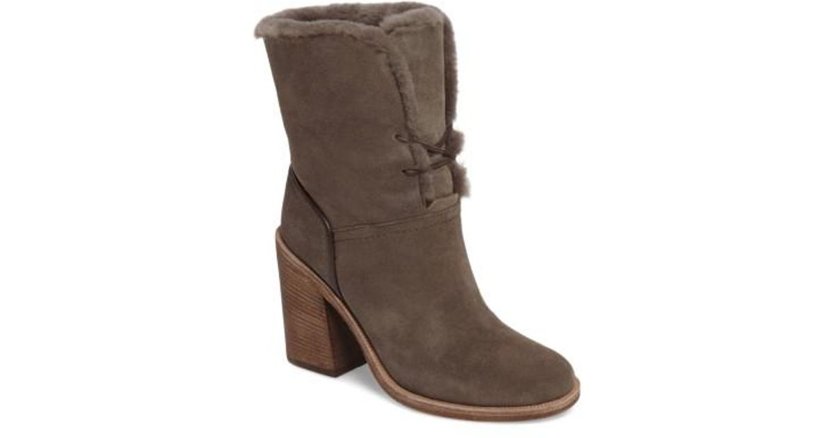 ac118c185be Ugg Brown Ugg Jerene Genuine Shearling Lined Boot