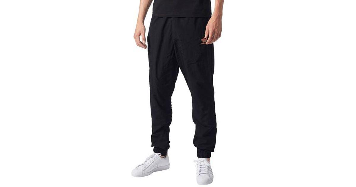 Adidas Originals Blue Pharrell Williams Hu Hiking Track Pants for men