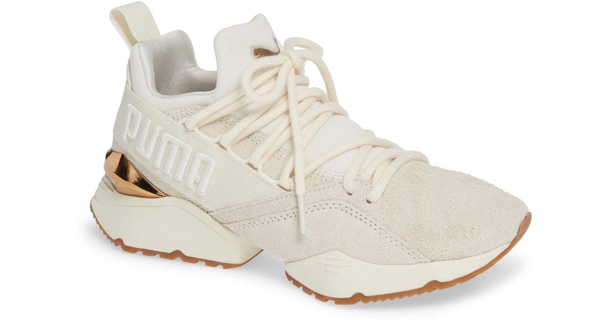 PUMA Suede Muse Maia Utility Sneaker in