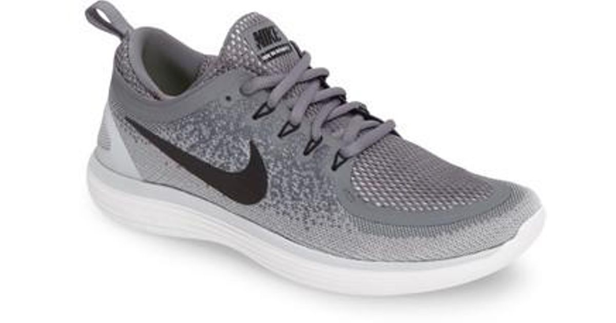 e9a46021f2be Lyst - Nike Free Rn Distance 2 Running Shoe in Gray for Men