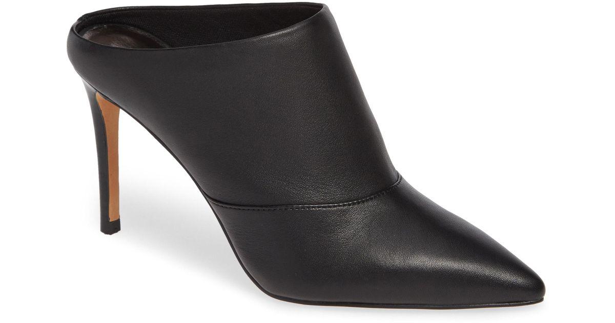 495d68b53b1 Dolce Vita Black Cinda Pointy Toe Mule (women)