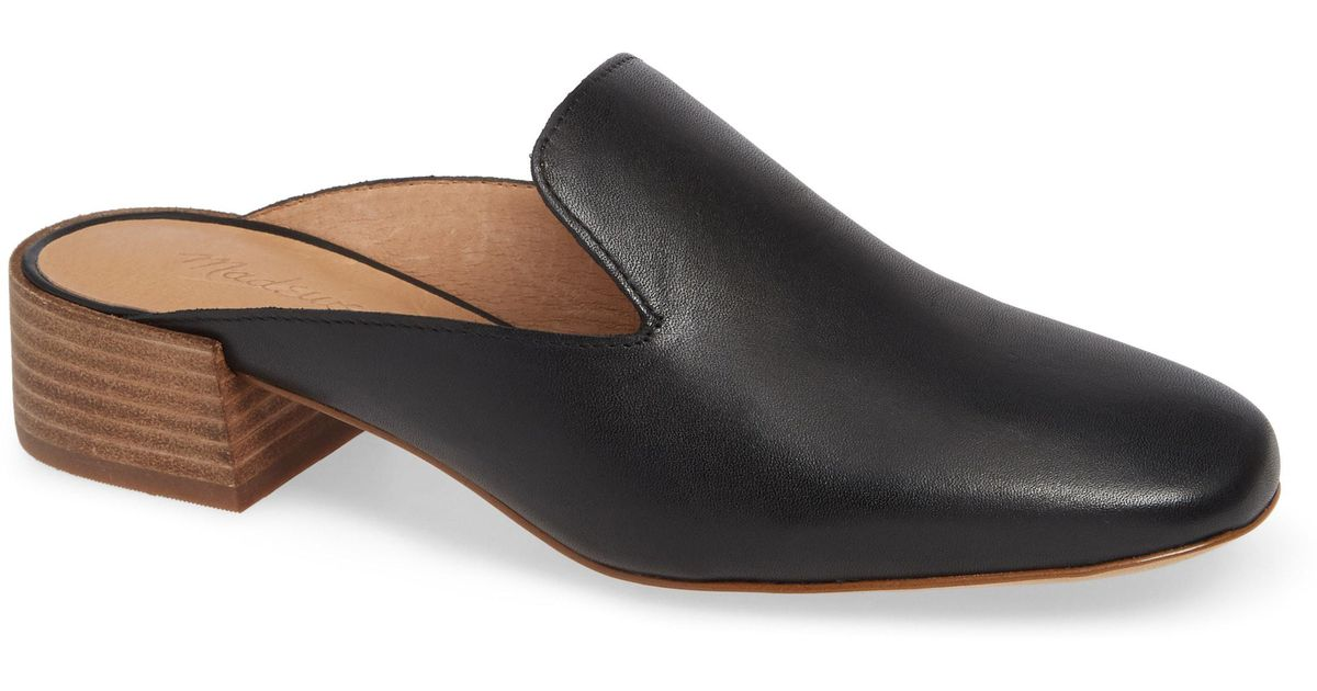 5daa3aa3c6d Lyst - Madewell The Willa Loafer Mule (women) in Black