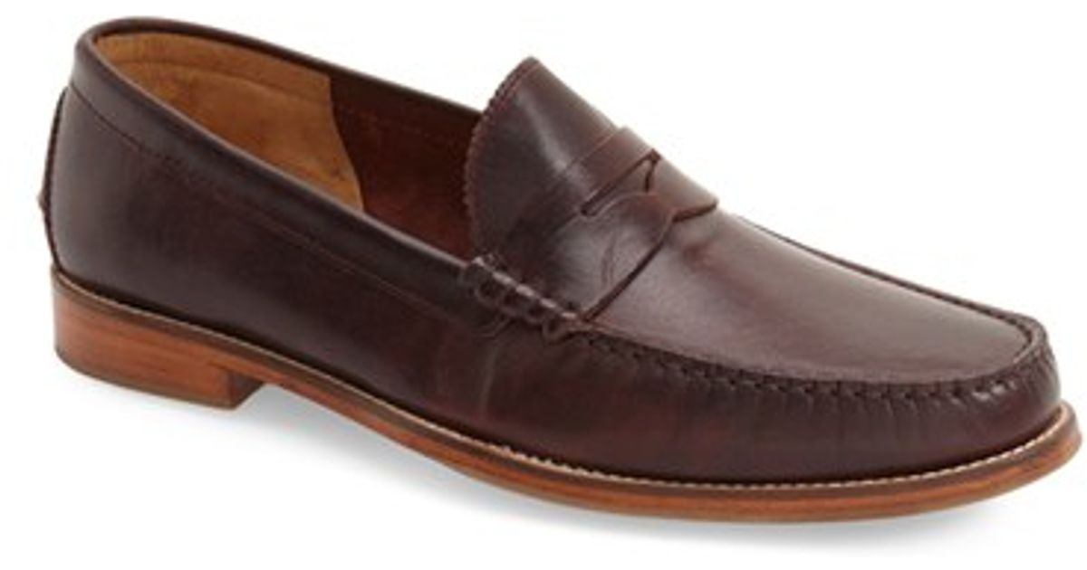 03702cc7878 Lyst - J SHOES Stephen Penny Loafer in Brown for Men
