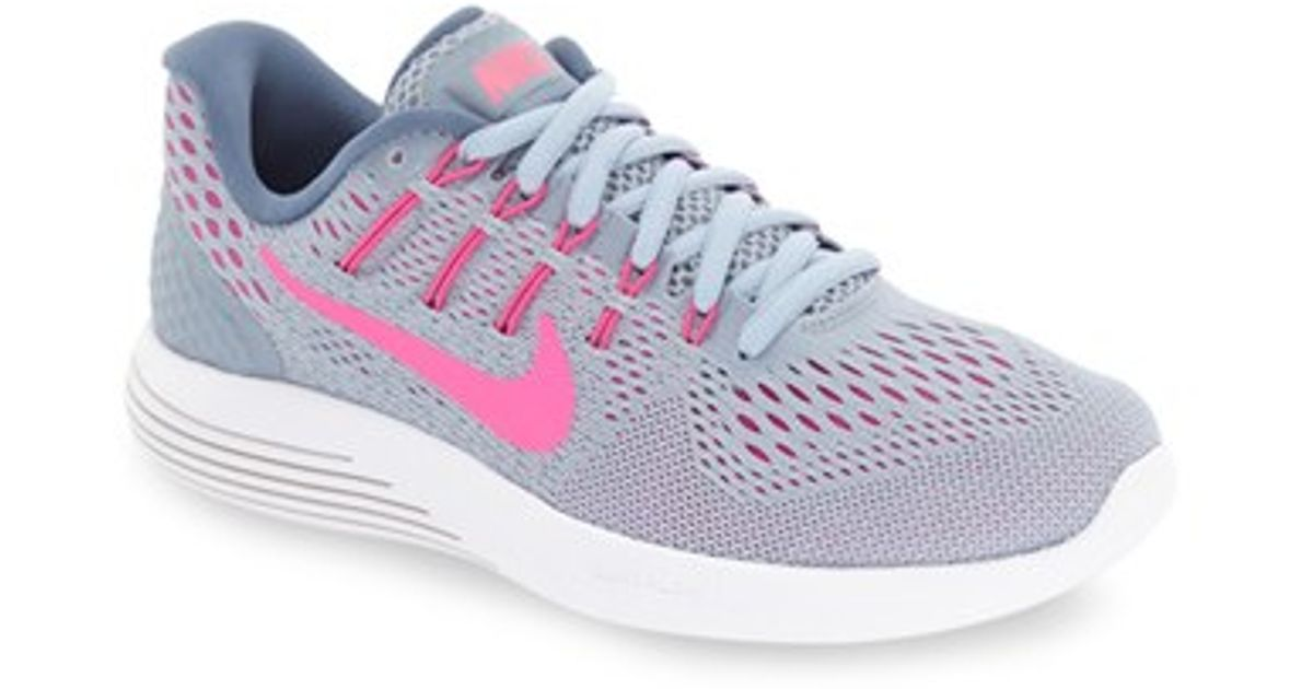 752e86e59b2e6 Lyst - Nike  lunarglide 8  Running Shoe in Blue