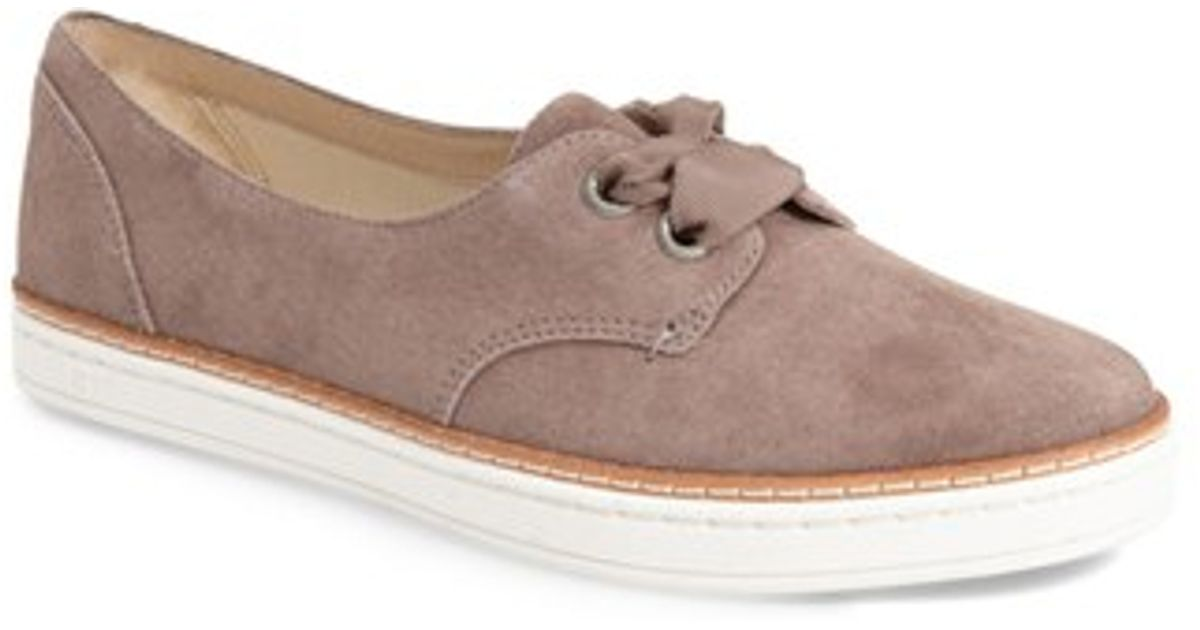 baa6a8d8d70 UGG Gray Ugg Carilyn Lace-up Sneaker