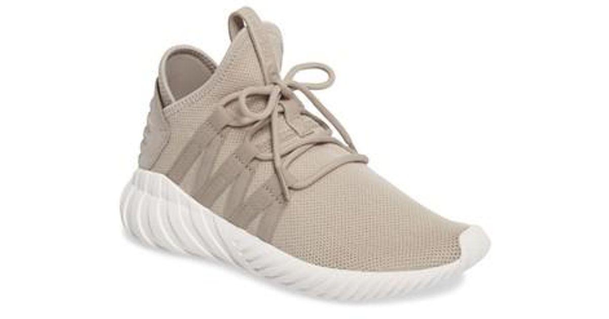 3e362b359 Lyst - adidas Tubular Dawn Primeknit Sneaker in Brown