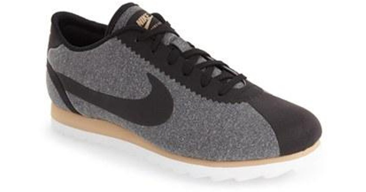 0b639c38625 ... discount lyst nike cortez ultra se sneaker in black 8918f 0b271  discount 859540 600 womens ...
