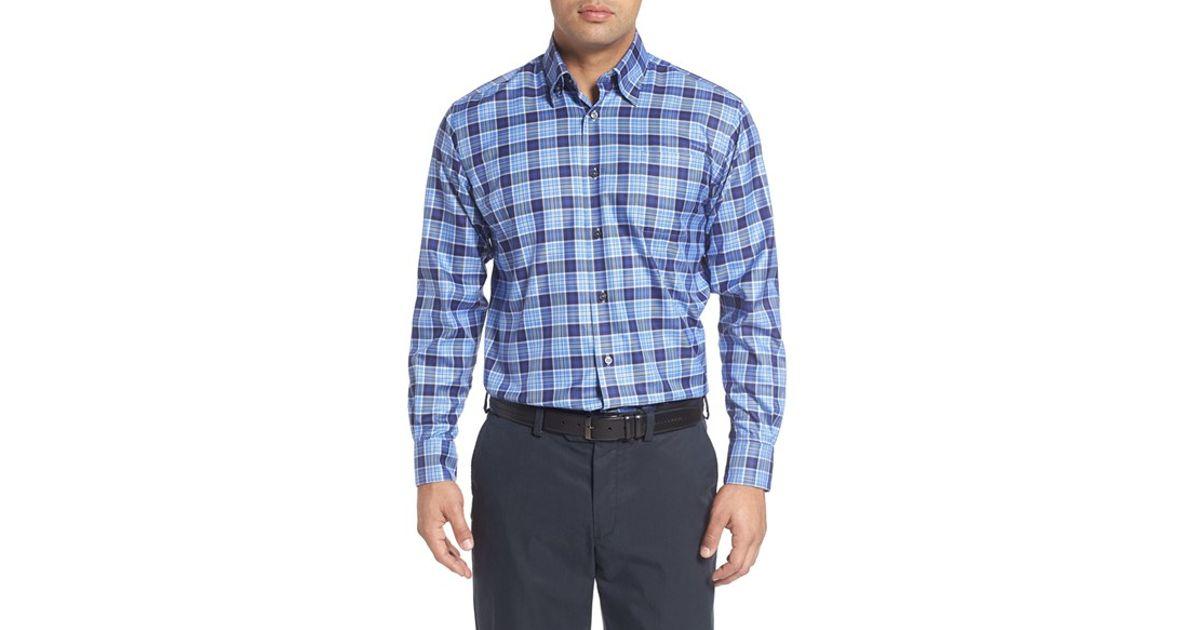 Robert talbott 39 anderson 39 regular fit plaid cotton sport for Robert talbott shirts sale