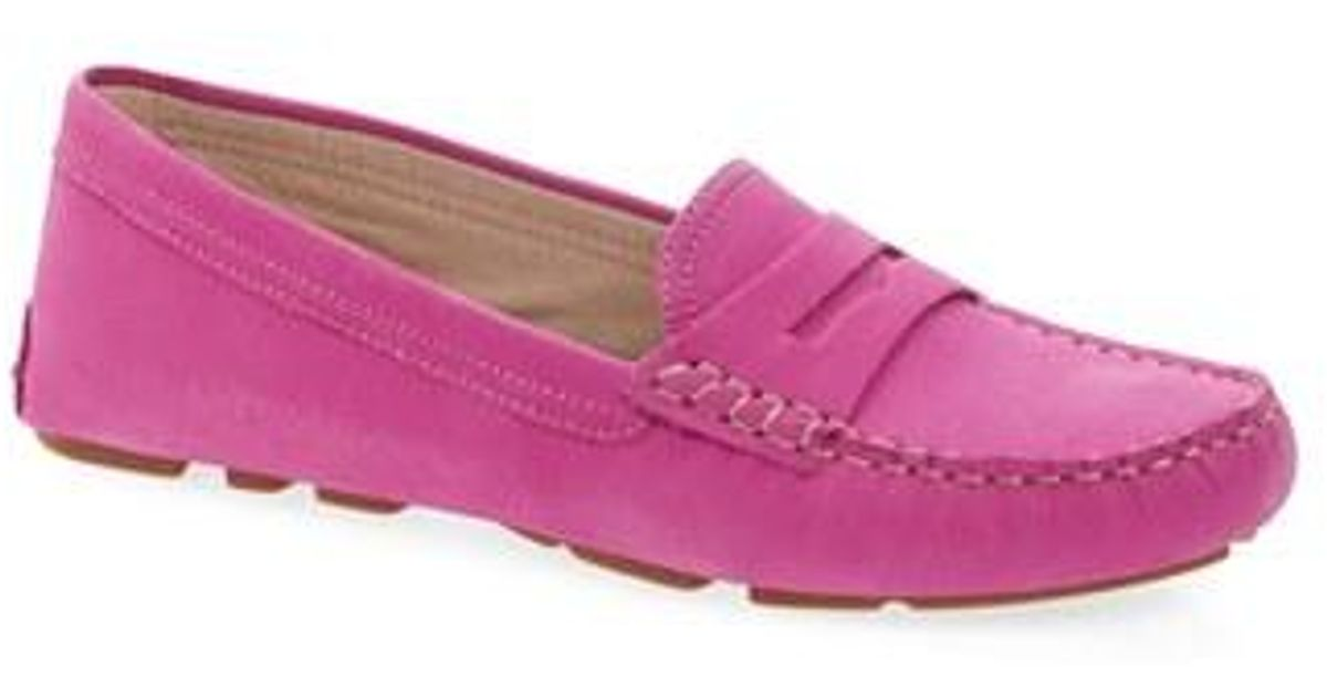 5cf613817dc Lyst - Sam Edelman Filly Moc Toe Loafer in Pink