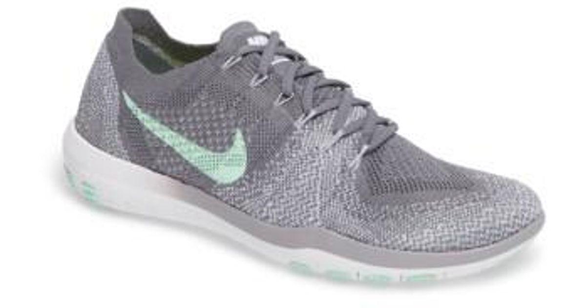 247a09089ef9 Lyst - Nike Free Focus Flyknit 2 Training Shoe in Gray for Men