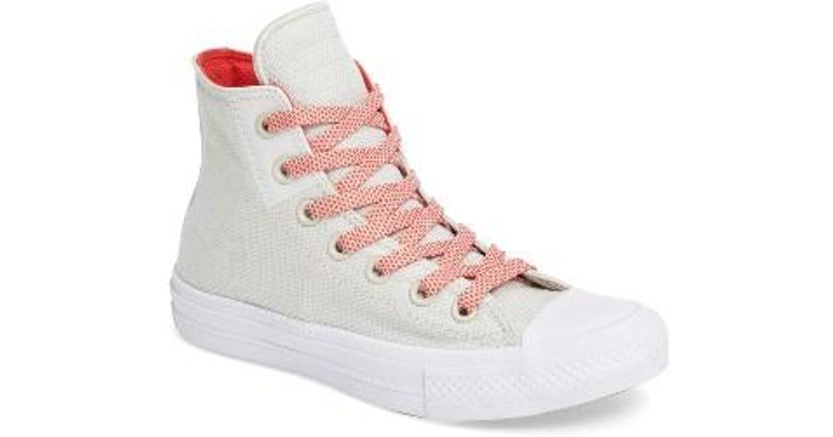 74c26c2a59378 Lyst - Converse Chuck Taylor All Star Ii Basket Weave High Top Sneaker in  Red for Men