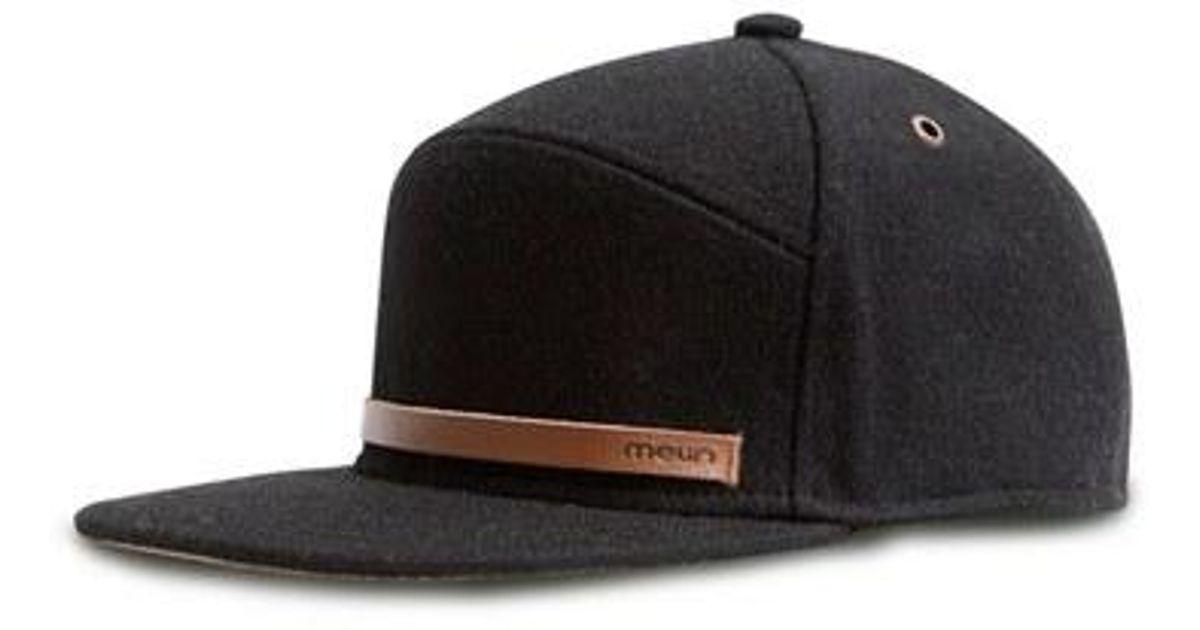 7dcef917ae0 Lyst - Melin Rancher Snapback Baseball Cap in Black for Men