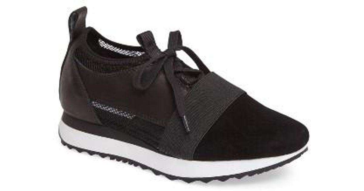 d5e189531e0 Lyst - Steve Madden Altitude Sock-fit Sneaker in Black
