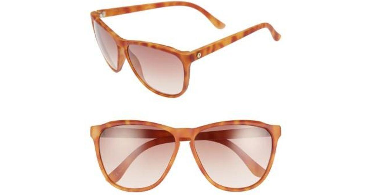 eb26d2e6141 Lyst - Electric Encelia 62mm Sunglasses - Sunset Tortoise in Brown