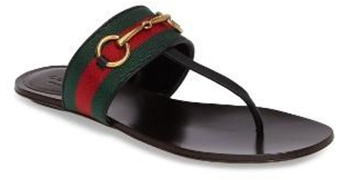 9711c4bbd1140 Lyst - Gucci Querelle Sandal in Black