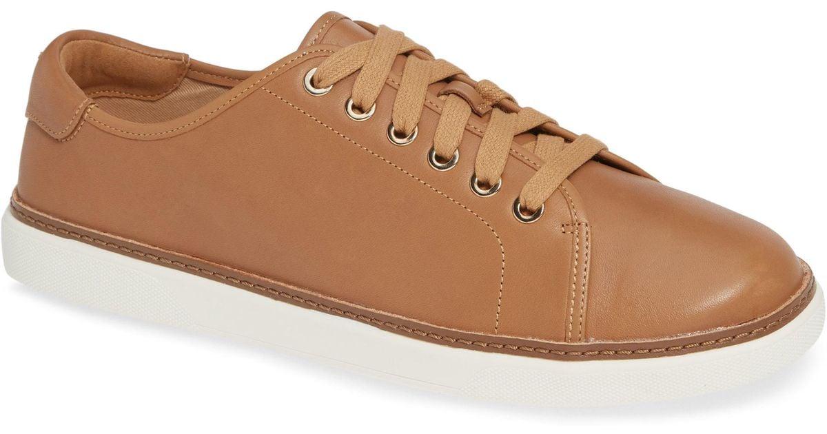 2010b0743060 Lyst - Vionic Leah Sneaker in Natural