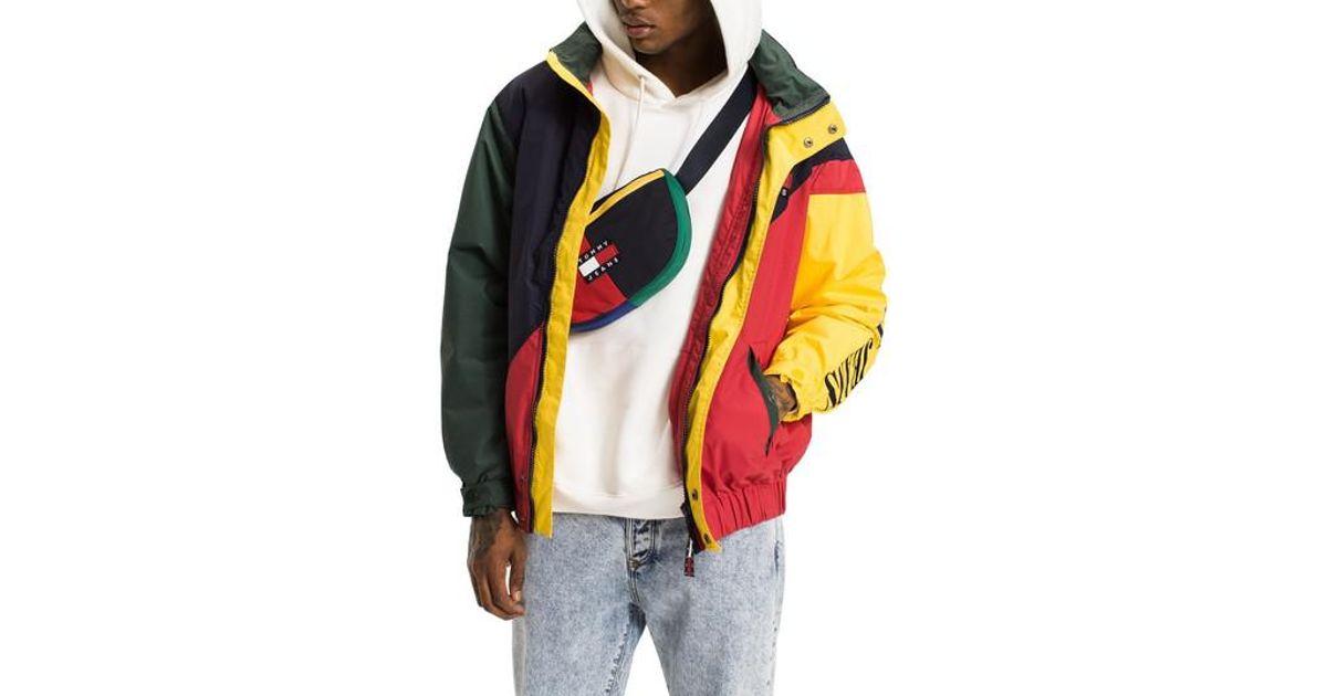 f61b1e93 Tommy Hilfiger Colorblock Jacket for Men - Lyst