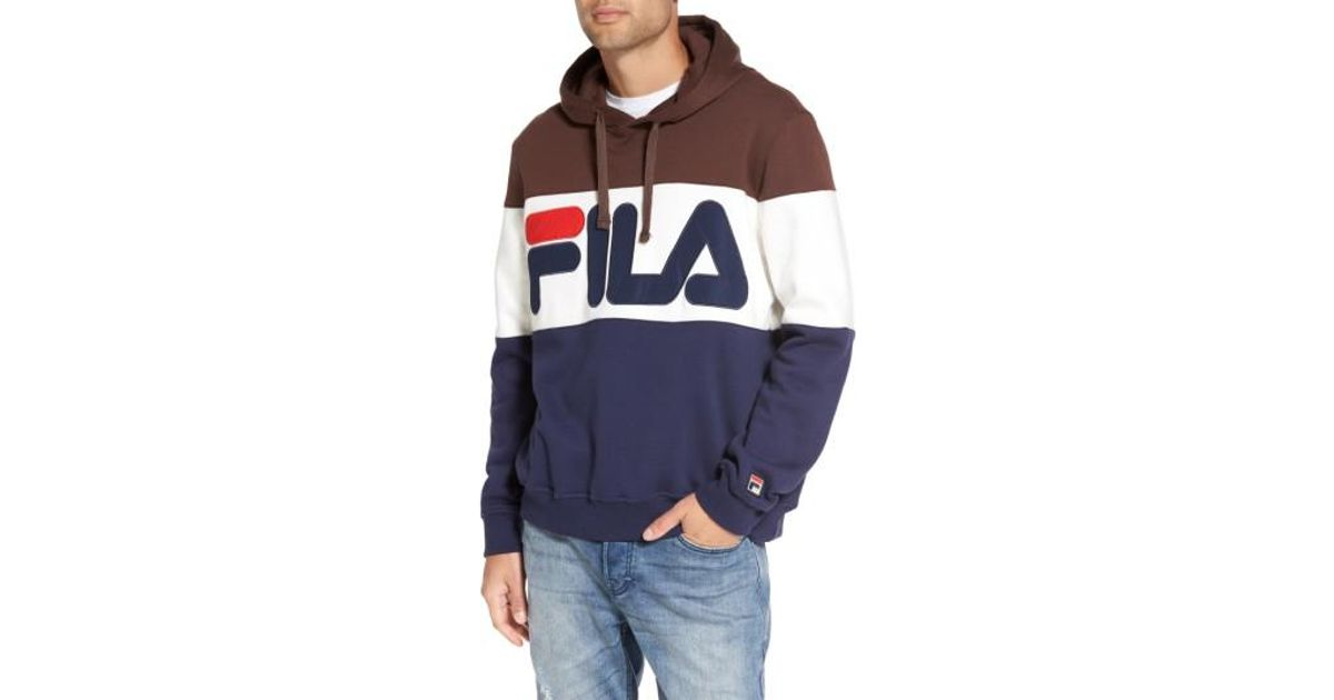 5eee534cd04e Lyst - Fila Trayton Hoodie in Blue for Men