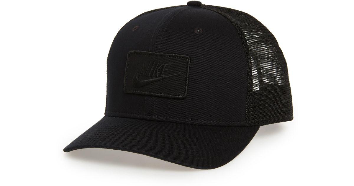 edd8dca4 Nike Blue Sportswear Classic '99 Trucker Hat for men