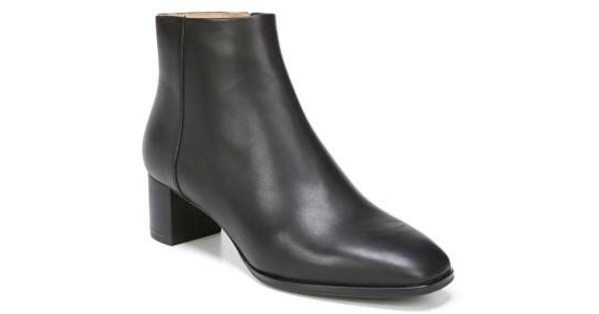 b366c0c33cb922 Lyst - Via Spiga Vinson Leather Bootie in Black