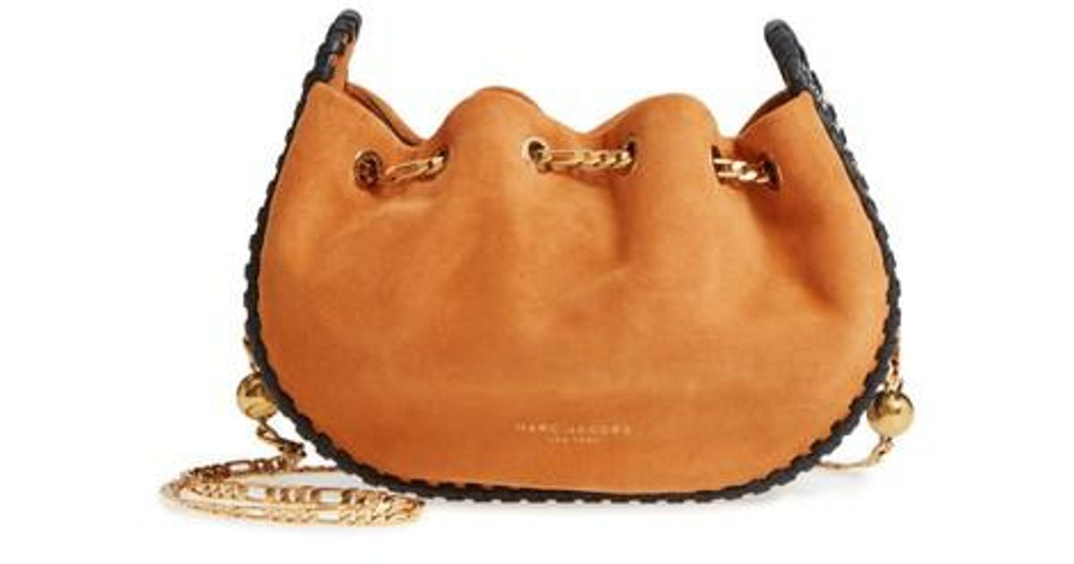 Lyst Suede Party Jacobs Marc Brown Crossbody Bag In Sway BxBvHrwaq